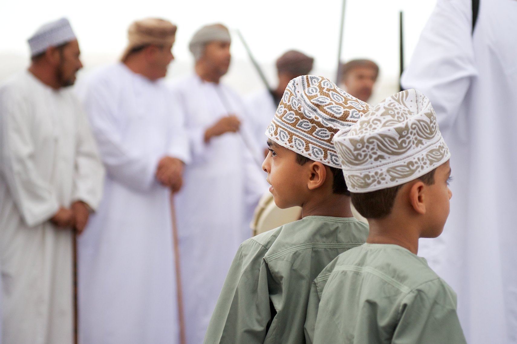 Oman Nizwa Learning from Elders