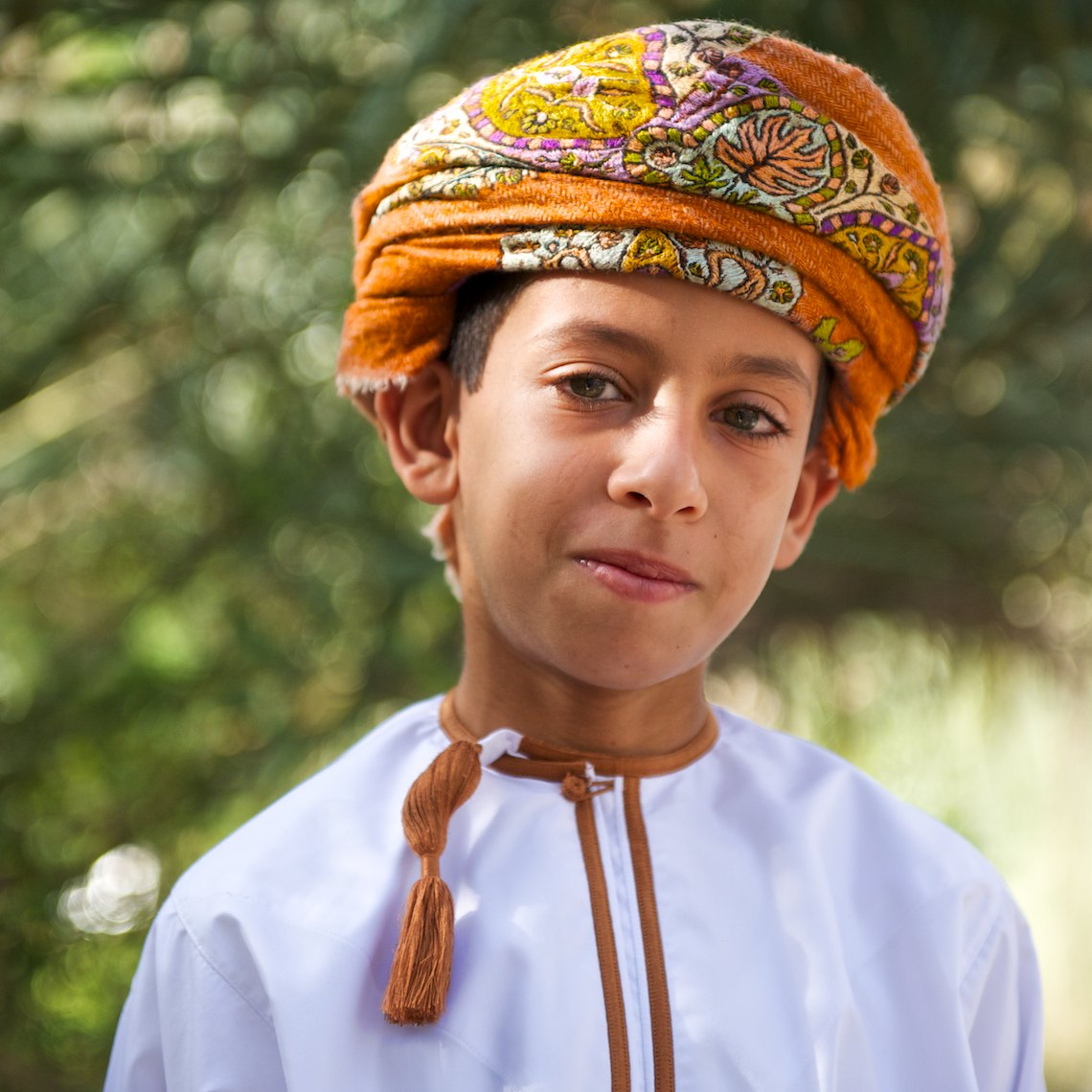 Oman portrait boy