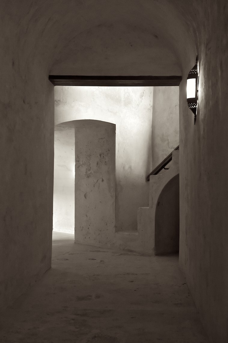 Oman Jabreen Castle Light