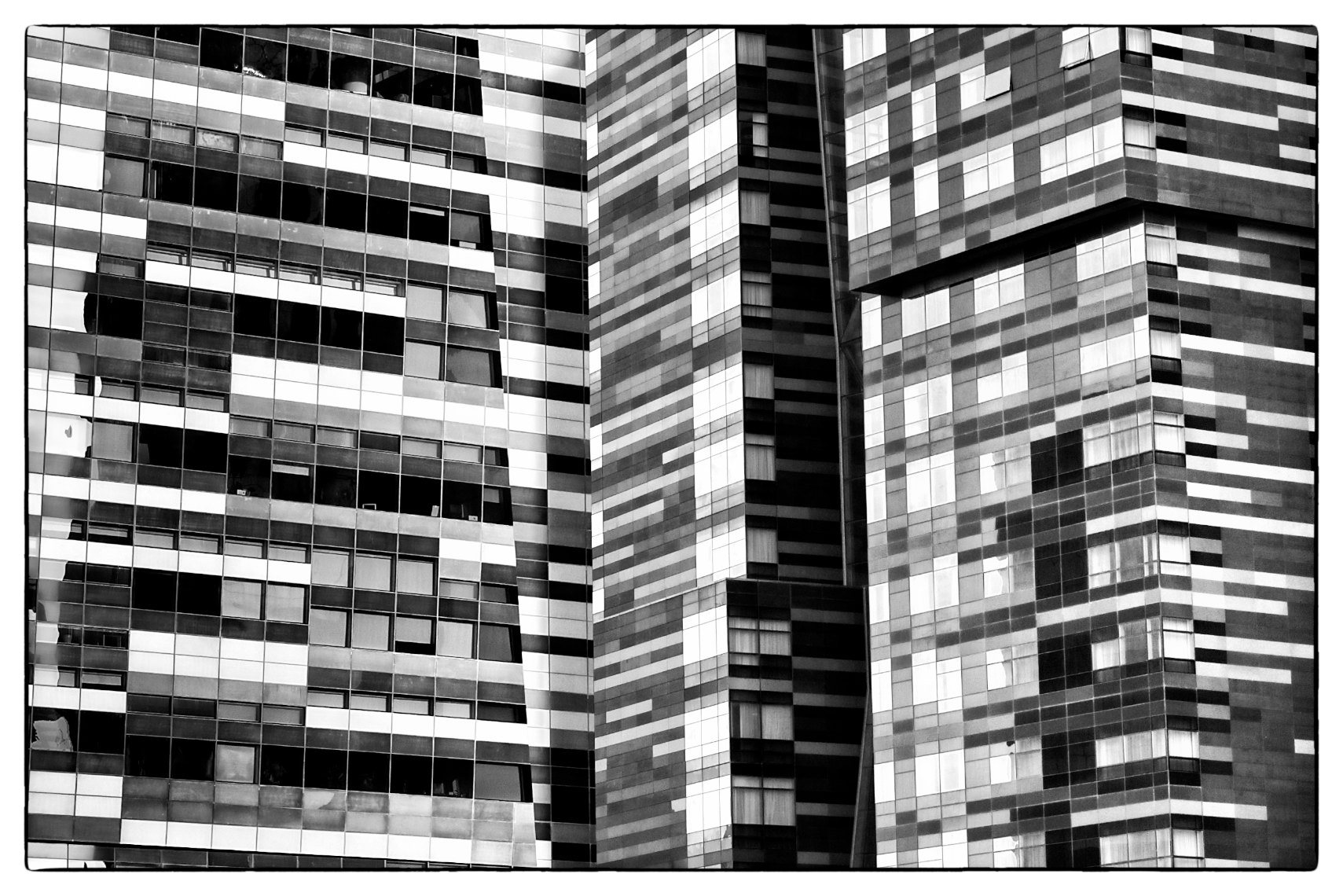 Qatar  architecture abstract