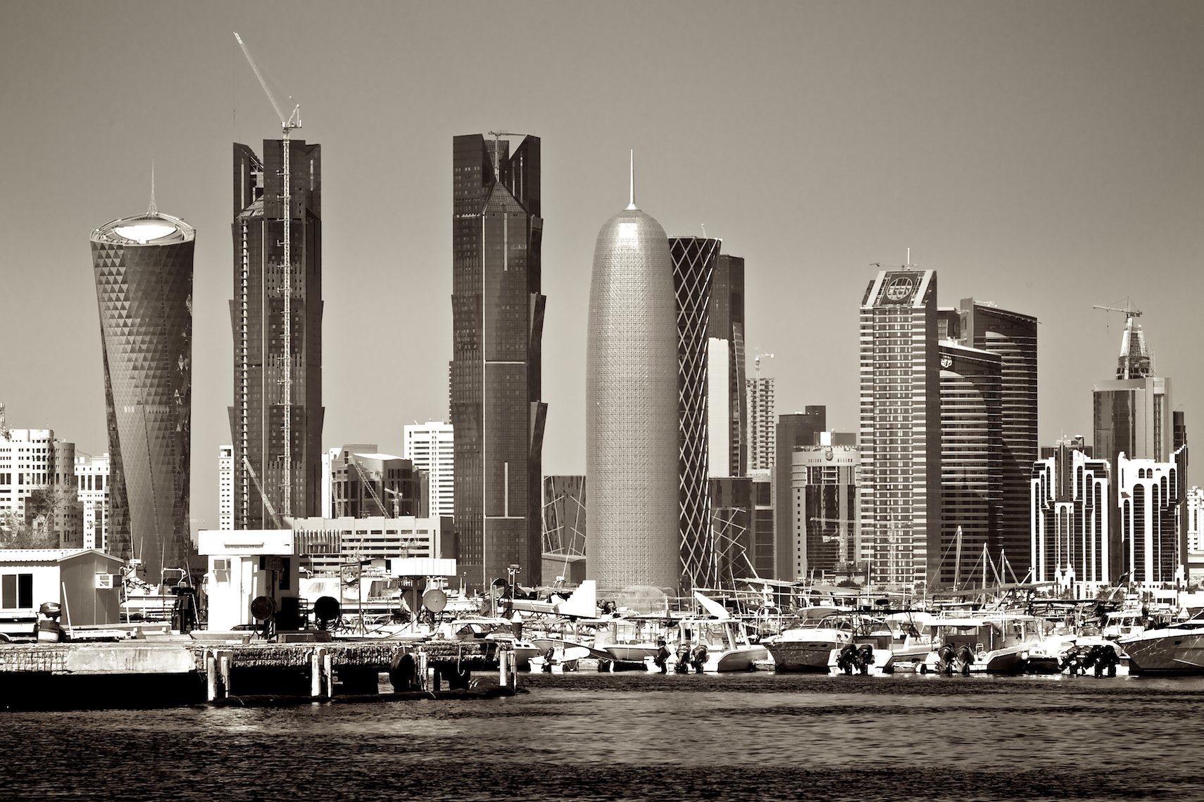 Qatar West Bay architecture