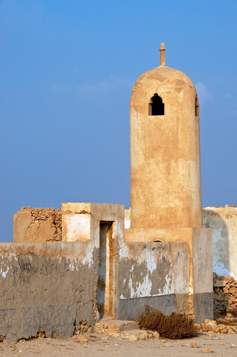 Qatar abandoned village near Al Arish