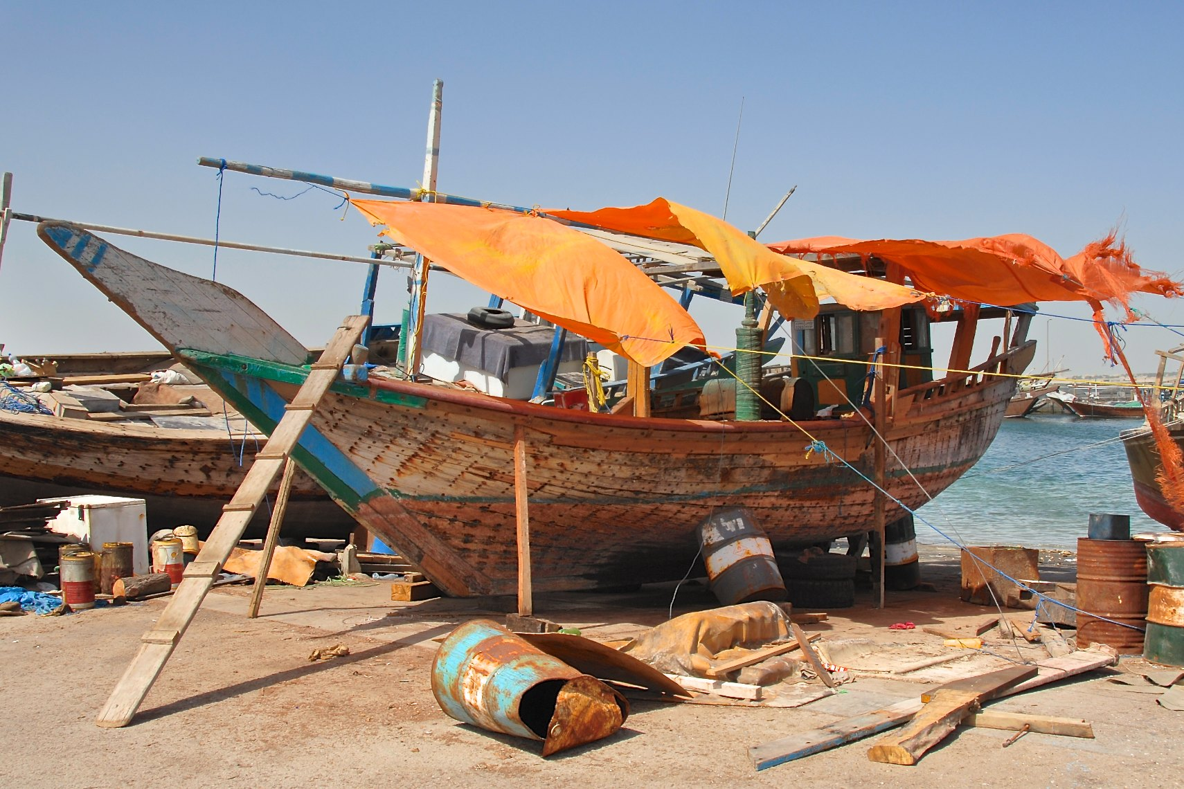 Qatar fishing boat