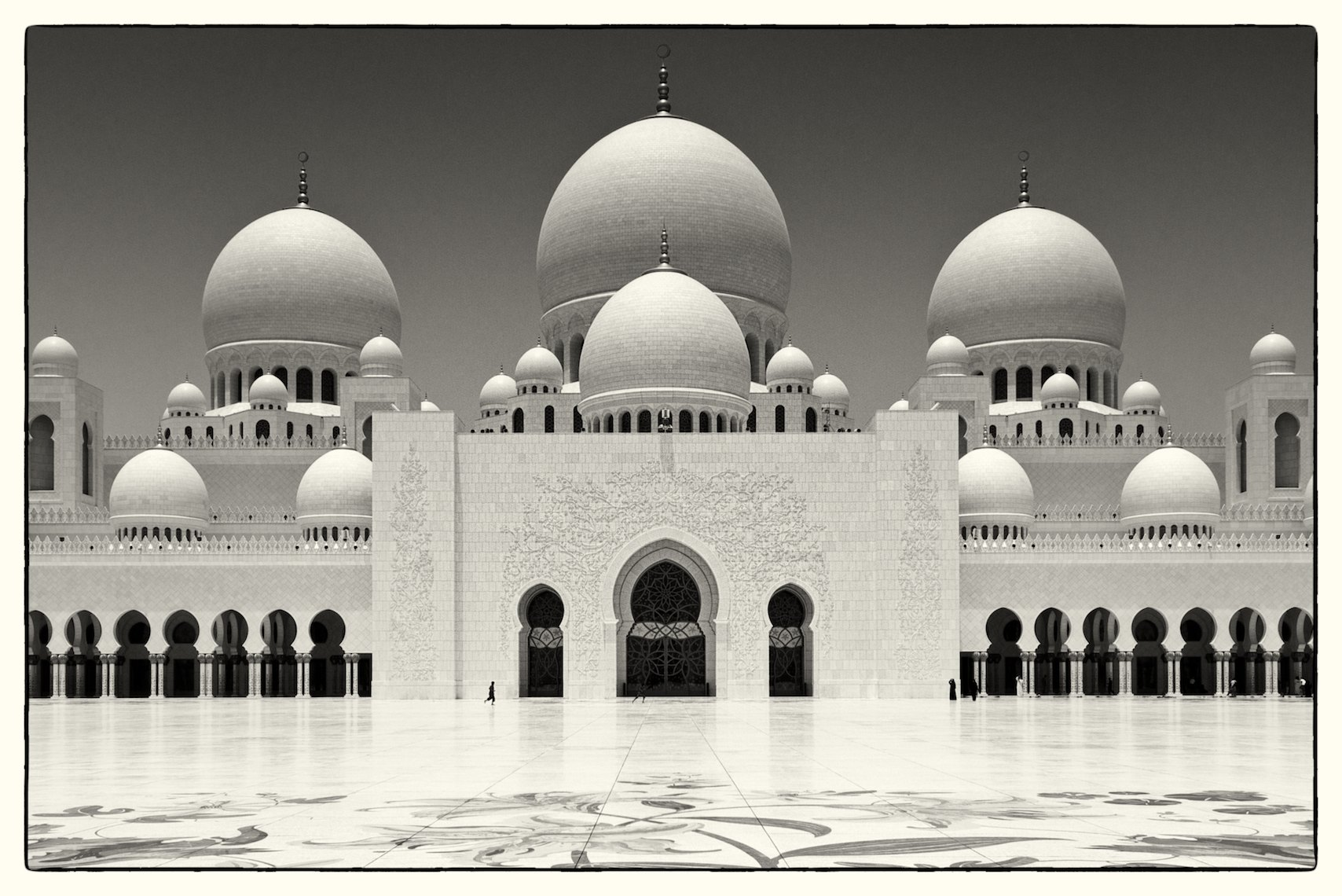 United Arab Emirates Abu Dhabi Sheikh Zayed Grand Mosque